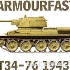 Maquetas: ARMOURFAST - T54-76 1943 99022 1/72 2 MODELOS POR CAJA. Lote 246335220