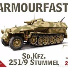 Maquetas: ARMOURFAST - SD.KFZ 251/9 STUMMEL 99032 1/72 2 MODELOS POR CAJA . Lote 89107104