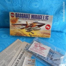 Maquetas: MAQUETA AVION DASSAULT MIRAGE F.1C, AIRFIX 1:72,. Lote 89459116