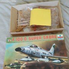 Maquetas: ESCI F-100 D SUPER SABRÉ, ESCALA 1/72. COMO NUEVO.. Lote 89489836