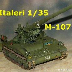 Maquetas: M-107 ATP ESPAÑOL, 1/35 ITALERI. Lote 90259360
