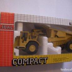 Maquetas: ANTIGUA MAQUETA JOAL MADE IN SPAIN TRACTOR CON VOLQUETE REF. CAT 631 - ESCALA 1/50. Lote 91048490
