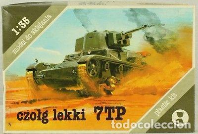 MODEL DO SKLEJANIA - 7TP 1/35 (Juguetes - Modelismo y Radiocontrol - Maquetas - Militar)