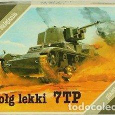 Maquetas: MODEL DO SKLEJANIA - 7TP 1/35. Lote 91070080