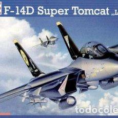 Macchiette: REVELL - F-14D SUPER TOMCAT LAST FLIGHT 04195 1/72. Lote 91136950