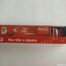 Maquetas: CAMION TRAILER CONTENEDOR DE PUBLICIDAD DE COCA COLA EN SU CAJA. Lote 91401678