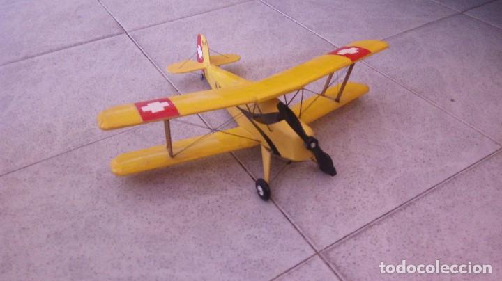 AVIONETA SUIZA BUCKER BU 131B JUNNGMAN (Juguetes - Modelismo y Radio Control - Maquetas - Aviones y Helicópteros)