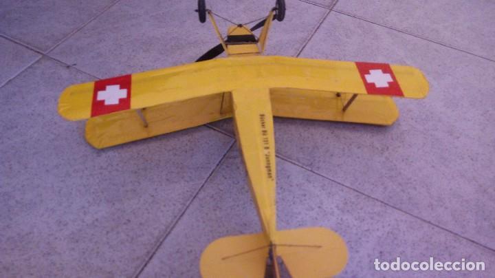 Maquetas: Avioneta suiza bucker bu 131B junngman - Foto 3 - 91533710