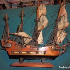 Maquetas: BARCO GALEÓN ESPAÑOL SIGLO XV CENTURY - MADERA - VER FOTOS Y DETALLES (PARA RESTAURAR). Lote 92815010