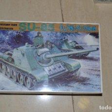 Maquetas: MAQUETA SU-85 RUSSIAN TANK DESTROYER . Lote 93393995