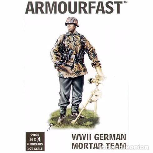 ARMOURFAST - WWII GERMAN MORTAR TEAM 99006 1/72 (Juguetes - Modelismo y Radiocontrol - Maquetas - Militar)