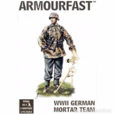 Maquetas: ARMOURFAST - WWII GERMAN MORTAR TEAM 99006 1/72. Lote 93697760