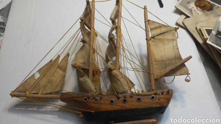 MAQUETA ANTIGUA DE BARCO CARABELA AÑOS 50 (Juguetes - Modelismo y Radiocontrol - Maquetas - Barcos)
