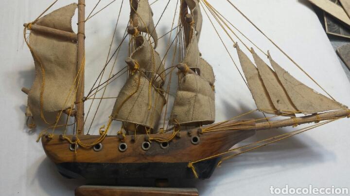 Maquetas: Maqueta antigua de barco carabela años 50 - Foto 2 - 93842978