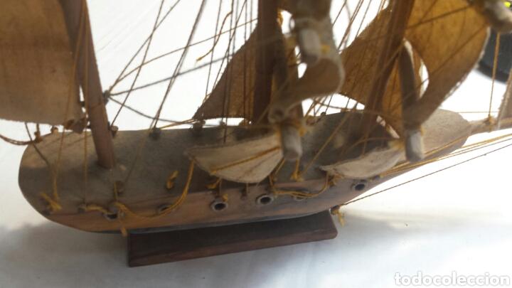 Maquetas: Maqueta antigua de barco carabela años 50 - Foto 3 - 93842978