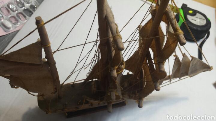 Maquetas: Maqueta antigua de barco carabela años 50 - Foto 4 - 93842978