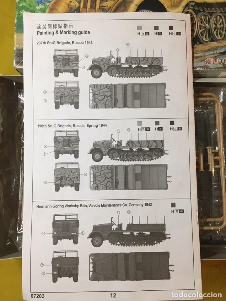 Maquetas: Sd.Kfz 9 FAMO 18 Tn. 1:72 TRUMPETER 07203 maqueta carro vehículo camión - Foto 5 - 94185543