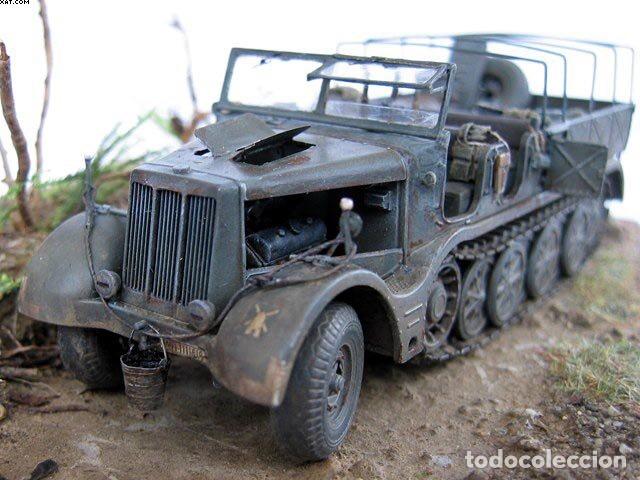 Maquetas: Sd.Kfz 9 FAMO 18 Tn. 1:72 TRUMPETER 07203 maqueta carro vehículo camión - Foto 8 - 94185543