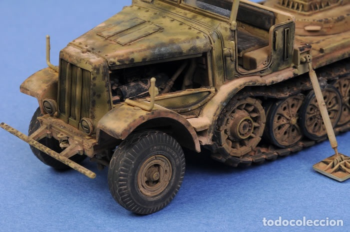 Maquetas: Sd.Kfz 9 FAMO 18 Tn. 1:72 TRUMPETER 07203 maqueta carro vehículo camión - Foto 9 - 94185543