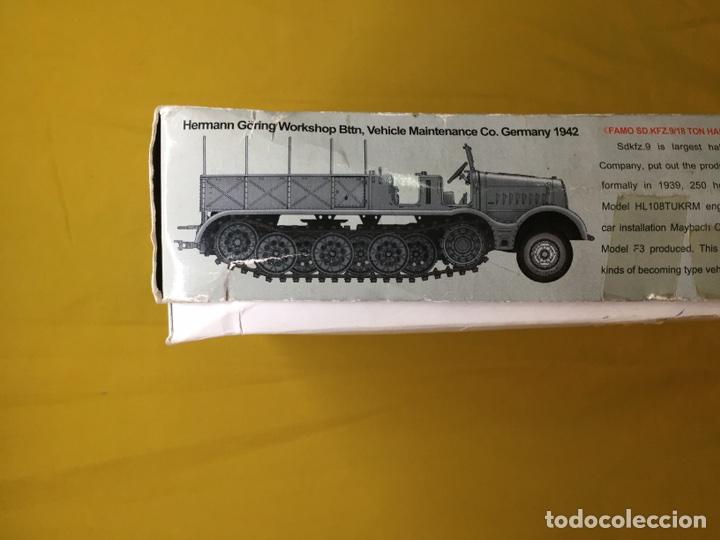 Maquetas: Sd.Kfz 9 FAMO 18 Tn. 1:72 TRUMPETER 07203 maqueta carro vehículo camión - Foto 2 - 94185543