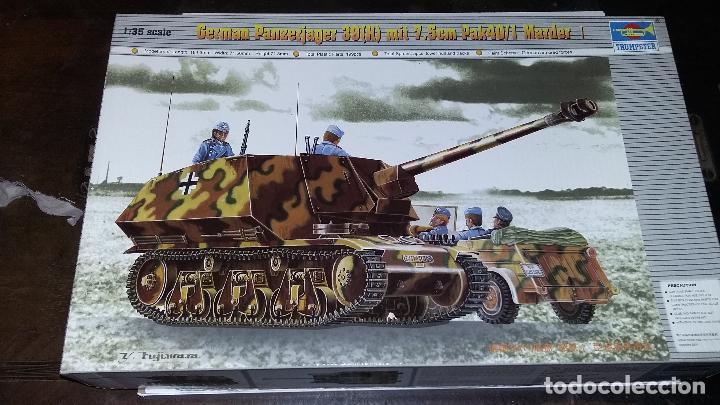 GERMAN PANZERJAGER MARDER I, TRUMPETER 1/35 (Juguetes - Modelismo y Radiocontrol - Maquetas - Militar)