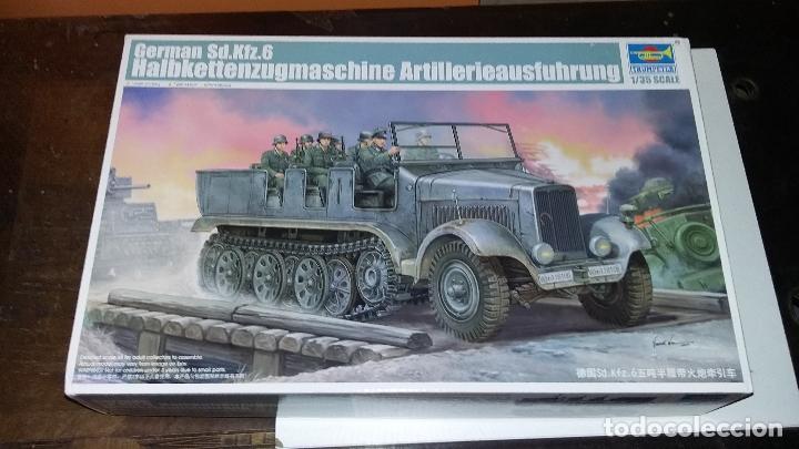 SDKFZ 6 ARTILLERIEAUSFUHRUNG. TRUMPETER 1/35 (Juguetes - Modelismo y Radiocontrol - Maquetas - Militar)