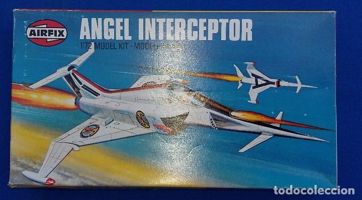 ANGEL INTERCEPTOR- MAQUETA DESCATALOGADA DE AIRFIX (Juguetes - Modelismo y Radiocontrol - Maquetas - Otras Maquetas)