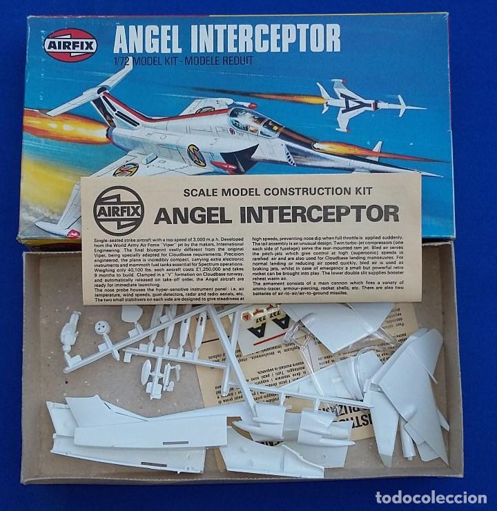 Maquetas: Angel Interceptor- Maqueta descatalogada de Airfix - Foto 2 - 94673903