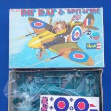 Maquetas: RAF SPITFIRE REVELL- CARICATURA. Lote 95497655