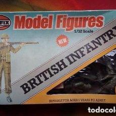 Maquettes: AIRFIX 1/32 . MODELS FIGURES BRITISH INFANTRY 28 PIEZAS. SOLDADOS PARA MAQUETA. Lote 75935795