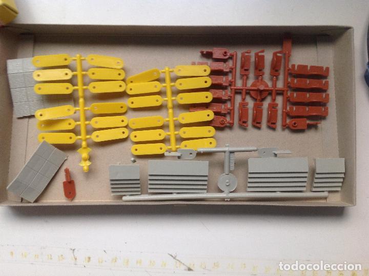 Maquetas: Caja Gebr. Faller.Platform-Extension. Nº B-184. Foto de caja y contenido. - Foto 2 - 96142531