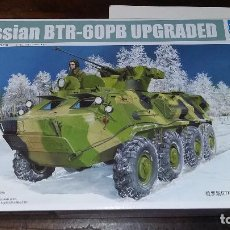 Maquetas: BTR 60 PB UPGRADED. TRUMPETER 1/35. Lote 96234447