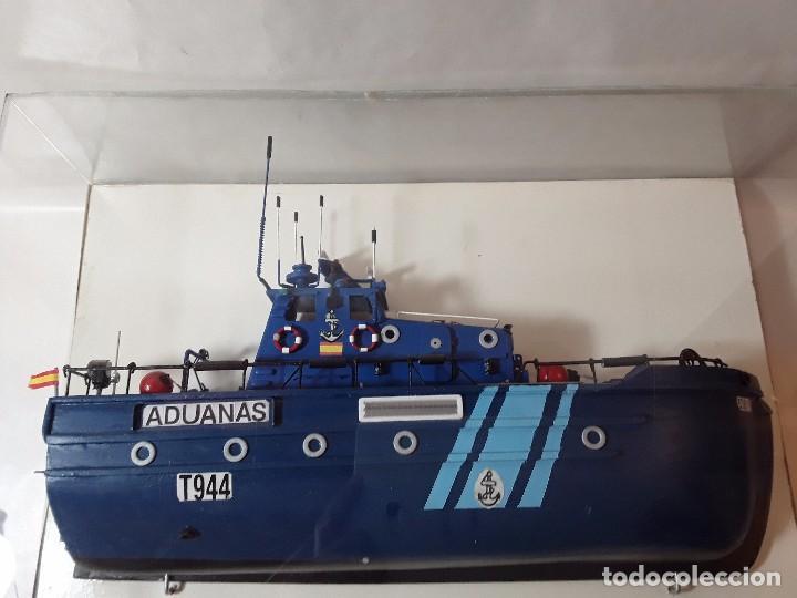 MAQUETA BARCO - PATRULLERA VIGILANCIA ADUANERA - ADUANAS (Juguetes - Modelismo y Radiocontrol - Maquetas - Barcos)