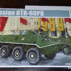 Maquetas: RUSSIAN BTR 60PB. TRUMPETER 1/35. Lote 96508091