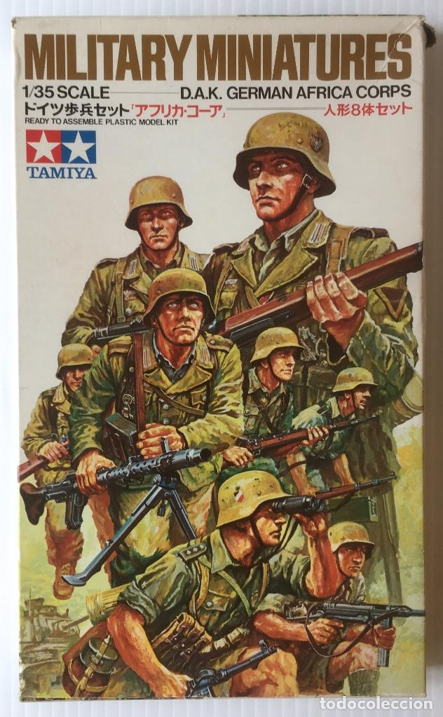 Maquetas: MILITARY MINIATURES. 1/35 SCALE. D.A.K. GERMAN AFRICA CORPS. - Foto 1 - 96540223