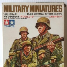 Maquetas: MILITARY MINIATURES. 1/35 SCALE. D.A.K. GERMAN AFRICA CORPS.. Lote 96540223