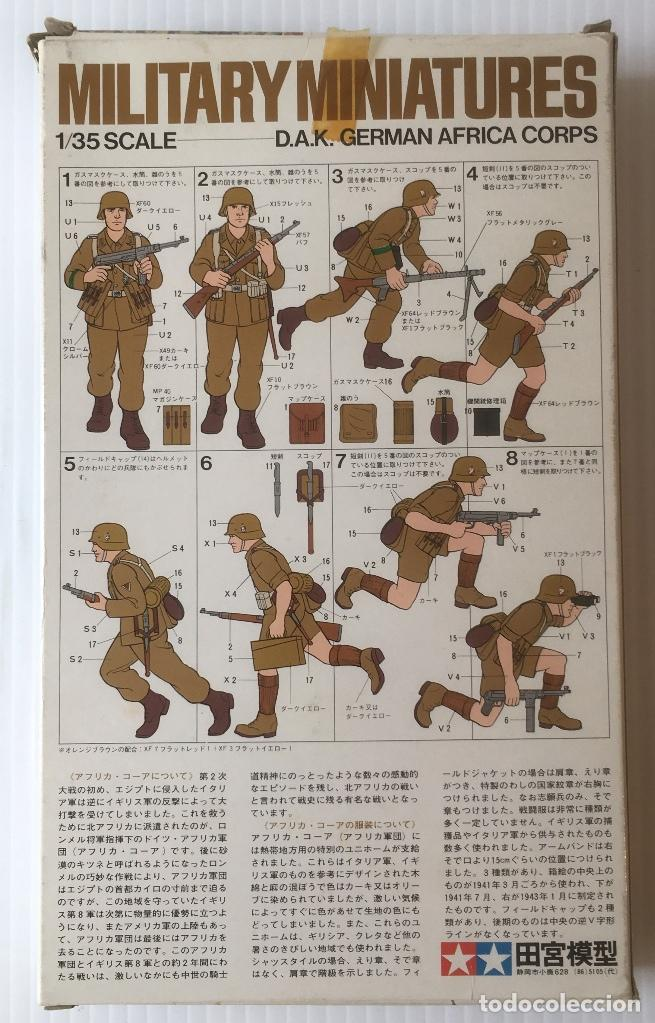 Maquetas: MILITARY MINIATURES. 1/35 SCALE. D.A.K. GERMAN AFRICA CORPS. - Foto 2 - 96540223