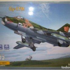 Maquetas: MAQUETA AVIÓN CY-17M, SU-17M, 1:72 MODELSVIT, NUEVA. Lote 96552827