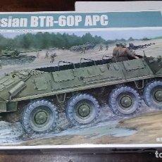 Maquetas: RUSSIAN BTR-60P APC. TRUMPETER 1/35. Lote 96601159