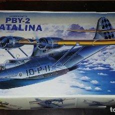 Maquetas: CONSOLIDATED PBY 2 CATALINA; ACADEMY 1/72. Lote 96677103