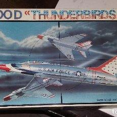 Maquetas: F-100 D THUNDERBIRDS. ESCI 1/48. Lote 96677123