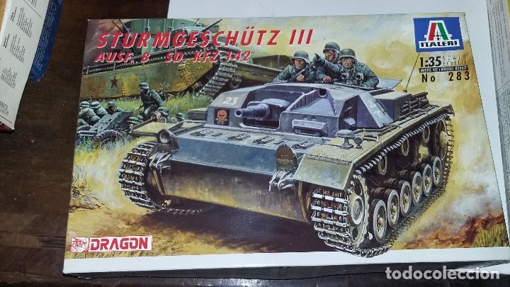 STURMGESCHUTZ III AUSF B. ITALERI / DRAGON 1/35. (Juguetes - Modelismo y Radiocontrol - Maquetas - Militar)