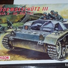Maquetas: STURMGESCHUTZ III AUSF B. ITALERI / DRAGON 1/35.. Lote 96677155