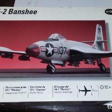 Maquetas: F2H-2 BANSHEE. TESTORS 1/48. Lote 96763123
