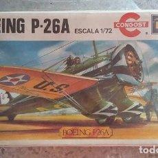 Maquetas: BOEING P-26A MAQUETA DE AVION CONGOST REVELL ESCALA 1/72 AÑOS 80. CERRADO. Lote 97092151