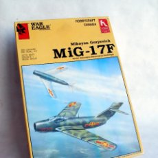 Maquetas: WAR EAGLE/HOBBYCRAFT 1:48 • MIKOYAN GURYEVICH MIG-17F • MAQUETA ESCALA 1/48. Lote 97121167