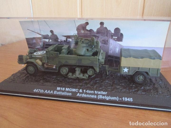 ALTAYA: BLINDADOS DE COMBATE , Nº 1 - M16 MGMC & 1-TON TRAILER (Juguetes - Modelismo y Radiocontrol - Maquetas - Militar)