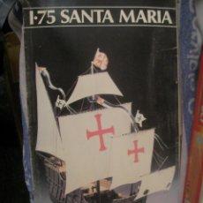 Maquetas: ANTIGUA MAQUETA HELLER HUMBROL - SANTA MARIA. Lote 97457147
