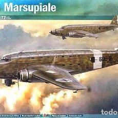 Maquetas: MAQUETA DEL AVIÓN DE TRANSPORTE SAVOIA MARCHETTI SM.82 MARSUPIALE DE ITALERI A 1/72. Lote 97527039