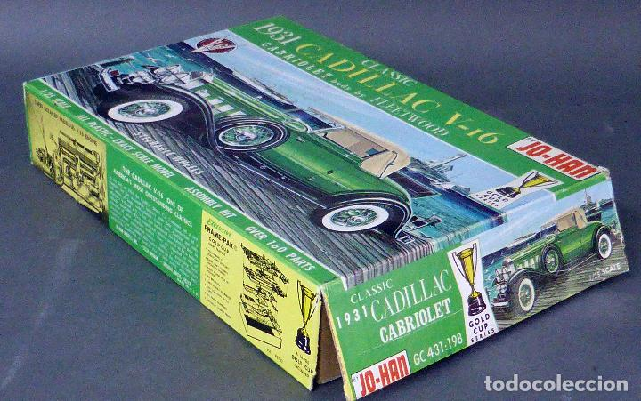 Maquetas: Caja vacía Cadillac V 16 Classic 1931 Jo Han Made in USA - Foto 2 - 97700623